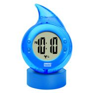 Bedol water clock- Runs on water. No batteries, No electricity. Clean energy!