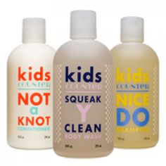 Kidscounter Bath Collection. Our babies matter the most. At Beautycounter we have your little ones covered with kidscounter!!  Kidscounter products are free of common allergens like skin irritants, nut oils and gluten, and chemicals linked to cancer or hormone disruption.