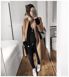 """""""Aujourd'hui c'était donc noir et blanc! • Leather Jacket #balenciaga (old) • Top #bash (old) • Jean #hironaeparis (on @hironaeparis) • Bag…"""""""
