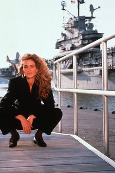 A late 1980's photoshoot feat Julia Roberts