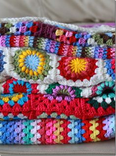 Need to make some Project Linus blankets with all different colors of yarn.  So cheerful!