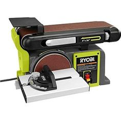 Factory Reconditioned Ryobi ZRBD4601G 4 in. x 36 in. Belt / 6 in. Disc Sander Green
