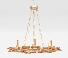 Made Goods - Josephine Chandelier.....OBSESSED!!!! Might need to get this for myself!