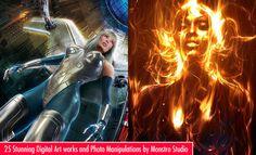 25 Stunning Digital Art works and Photo Manipulations by Monstro Studio. Follow us www.pinterest.com/webneel