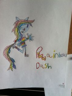 My RD half-pony drawing NO repins plz