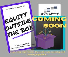 Being quarantined has allowed me the time to research ways we can work together to unpack equity in education. Although the pandemic has not been my favorite part of 2020, I am glad it afforded me the opportunity to see a new way for us to make teaching and learning equitable for all students. #EquityElevator #EquityOutsidetheBox #EOTB #Equity #Education