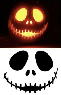 Pumpkin Templates Stencils 1 | GadgetHer