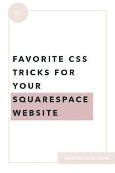 Favorite CSS tricks for your Squarespace Website by Launch with Erika Design Websites, Web Design Tips, Blog Design, Website Design Inspiration, Website Design Layout, Web Layout, Layout Design, Brand Inspiration, Layout Inspiration