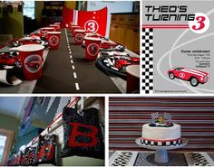 Yarah Designs: Race Car Themed Birthday Party