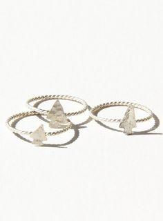 Arrowhead rings