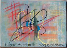 Abstracto Abstract Pattern, Pastel, Patterns, Painting, Cross Stitch, Abstract Paintings, Abstract, Block Prints, Cake