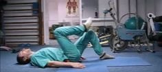 A Russian surgeon has shown some simple exercises to avoid spine surgery Wonderful Women Fitness Tips, Health Fitness, Spine Surgery, Sciatica, Alternative Medicine, Natural Medicine, Easy Workouts, Excercise, Back Pain