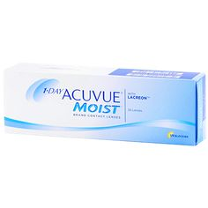 Buy Cheap 1-DAY ACUVUE MOIST 30 Pack Contact Lenses #contactlenses #contact #lenses