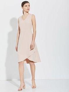 Платье с асимметричной юбкой charuel