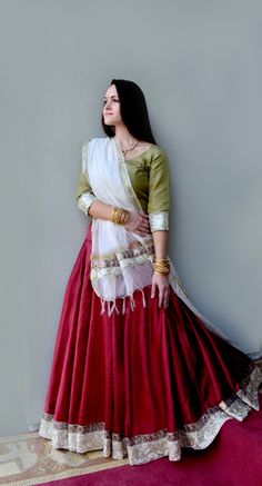 Fire Within - in Jewel Tones | Dancing Gopi Skirt Outfits