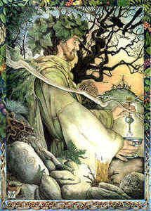 "Alban Arthuan, meaning 'Light of Arthur"" is the Winter Solstice Festival, observed 21st December. It is the time when winter turns the corner and the sun begins to become stronger. The Wheel of the Year moves beyond death to embrace new light and new life; Druid"