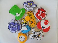 alice in wonderland cookies | Alice in Wonderland Cookies! | Flickr - Photo Sharing!