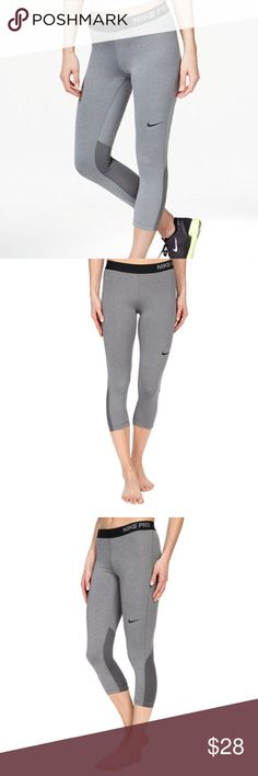 Nike Pro Cool Dri-fit capri leggings. 💲PRICE IS FIRM💲BRAND NEW WITH TAGS. Nike Pro Cool capri running tights. Full description above in photos. 🚫TRADES🚫PP🚫MERCARI🚫 Nike Pants