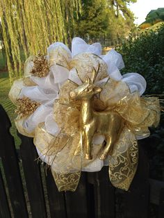 Christmas Wreath. $65.00, via Etsy.