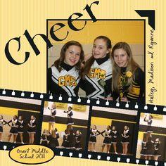 Cheerleading Layout