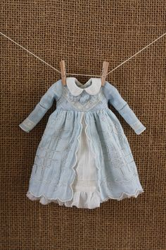 OOAK Vintage Hankie Dress for Blythe by pommepomme on Etsy