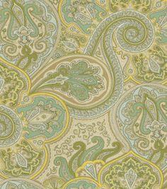 home decor print fabric-pkaufmann artissimo robin's egg & home