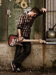 Konfirmant m gitar