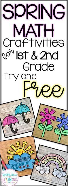 FREE Spring Math craft