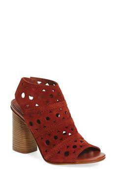 Topshop 'Nuvo' Laser Cut Sandal (Women)