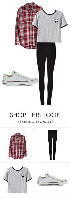 """""""October 13"""" by megaspirit on Polyvore featuring Madewell, Winser London, Chicnova Fashion and Converse"""