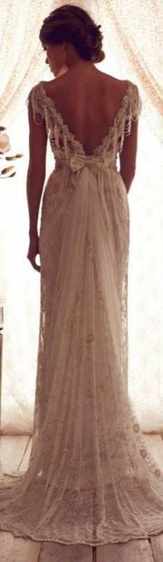 Stunning Wedding Dresses by Anna Campbell 2013 #bride #wedding <3