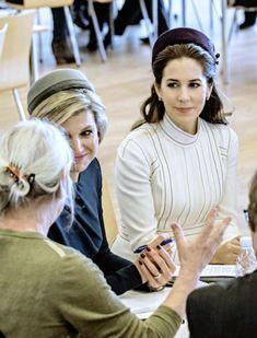 Royals & Fashion: Visite d'état des souverains des Pays Bas au Danemark - 1er jour