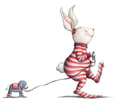 Little Rabbit ~ Lisa Anchin Funny Bunnies, Cute Bunny, Tatty Teddy, Cute Images, Cute Pictures, Rabbit Art, Bunny Art, Children's Book Illustration, Whimsical Art