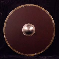 Swords and armor hand made in the USA Norman Shield, Anglo Saxão, Albion Swords, Anglo Saxon History, Shield Tattoo, Viking Shield, Dark Ages, My Character, Archaeology