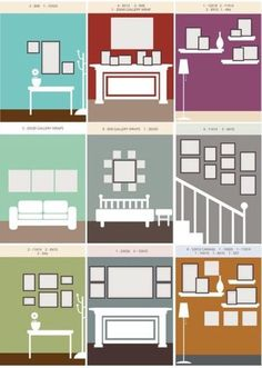 78 layouts for hanging photographs and artworks on empty walls like rh pinterest com