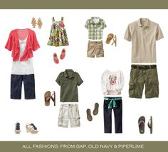 What to wear for Summer Portraits - Capturing Joy with Kristen Duke Summer family pictures - love the coral with olive green Family Portraits What To Wear, Summer Family Photos, Family Pictures, Spring Photos, Bild Outfits, Clothing Photography, Family Photography, Photography Tips, Beach Photography