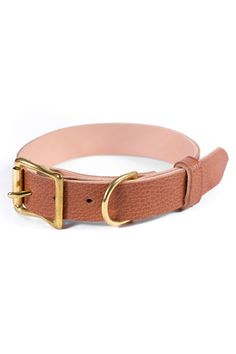 Brown Leather Dog Collar, Personalized Collar, FREE ID TAG, Solid Brass Hardware Free Id, Personalized Dog Collars, Leather Apron, Leather Dog Collars, Brass Buckle, Id Tag, Dog Gifts, Solid Brass, Brown Leather