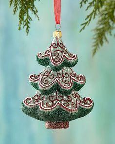 H8DGE Mattarusky Ornaments Timeless Tree Christmas Ornament