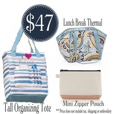 Qualify to add a Tall Organizing Tote for $10 with every $35 you spend. www.funkytotesandpurses.com www.facebook.com/funkytotesandpurses
