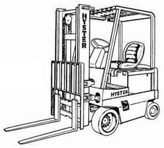 Original Illustrated Factory Workshop Service Manual for Toyota Electric Walkie High Lifter