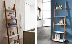 SCARA/ ORGANIZATOR LADDER TU DIN MDF SI LEMN DE BAMBUS Ladder, Shelving, Divider, Retro, Furniture, Design, Home Decor, Shelves, Stairway