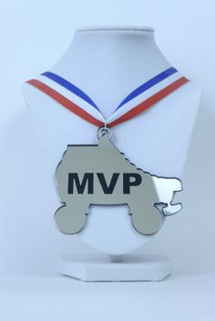 MVP Award Silver MasherCouture Rollerderby Mvp