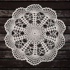 Excited to share the latest addition to my #etsy shop: LOST IN WEB Crochet Napkin http://etsy.me/2CjUYpg #housewares #homedecor #white #crochet #napkin #home #design #handmade #decor #forsale #home