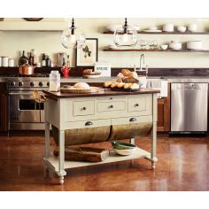 Baker S Island For 2 299 From Napa Style Kitchen Furniture Oak Cabinets Painting