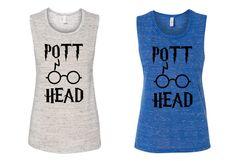 POTT Head Muscle Tanktop Harry Potter by peacearmy on Etsy