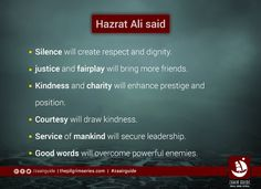 #HazratAli #Quote #ImamAli @FollowAhlulbayt @shiaislamic
