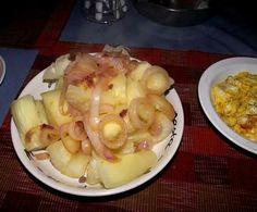 Yuca. Dominican Food