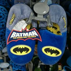Batman - The Brave and the Bold.  Kids Slippers (Mothercare)
