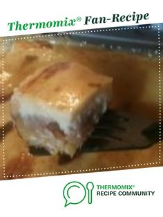 Apple Cake and Custard Slice by Nikki Banks. A Thermomix <sup>®</sup> recipe in the category Baking - sweet on www.recipecommunity.com.au, the Thermomix <sup>®</sup> Community.
