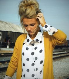 Polka dots - Click image to find more fashion posts